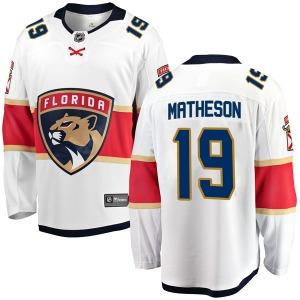Breakaway Fanatics Branded Youth Michael Matheson White Away Jersey - NHL Florida Panthers