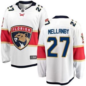 Breakaway Fanatics Branded Youth Scott Mellanby White Away Jersey - NHL Florida Panthers