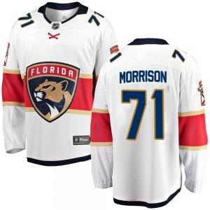 Breakaway Fanatics Branded Youth Brad Morrison White Away Jersey - NHL Florida Panthers