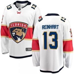 Breakaway Fanatics Branded Youth Sam Reinhart White Away Jersey - NHL Florida Panthers