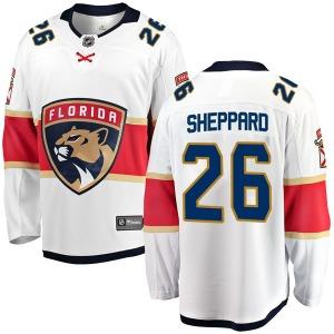 Breakaway Fanatics Branded Youth Ray Sheppard White Away Jersey - NHL Florida Panthers