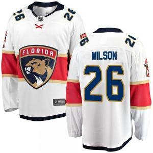 Breakaway Fanatics Branded Youth Scott Wilson White Away Jersey - NHL Florida Panthers