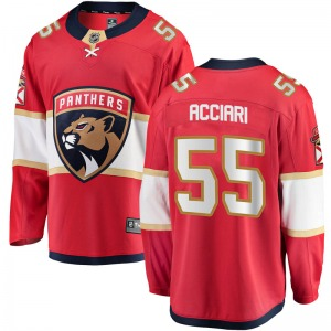 Breakaway Fanatics Branded Youth Noel Acciari Red Home Jersey - NHL Florida Panthers