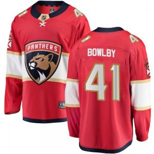 Breakaway Fanatics Branded Youth Henry Bowlby Red Home Jersey - NHL Florida Panthers