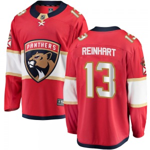 Breakaway Fanatics Branded Youth Sam Reinhart Red Home Jersey - NHL Florida Panthers