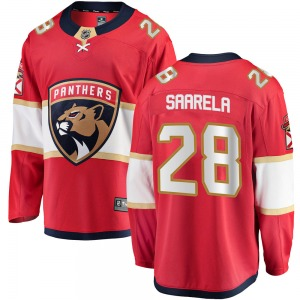 Breakaway Fanatics Branded Youth Aleksi Saarela Red ized Home Jersey - NHL Florida Panthers