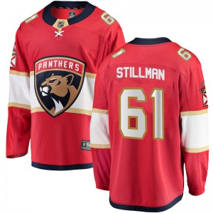 Breakaway Fanatics Branded Youth Riley Stillman Red Home Jersey - NHL Florida Panthers