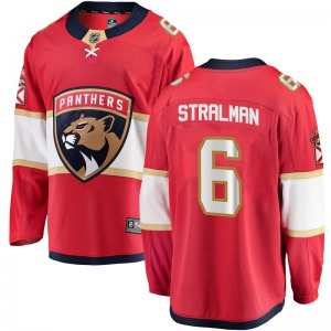 Breakaway Fanatics Branded Youth Anton Stralman Red Home Jersey - NHL Florida Panthers