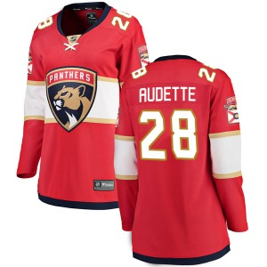 Breakaway Fanatics Branded Women's Donald Audette Red Home Jersey - NHL Florida Panthers