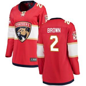 Breakaway Fanatics Branded Women's Josh Brown Red Home Jersey - NHL Florida Panthers