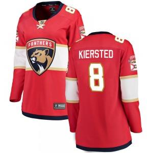 Breakaway Fanatics Branded Women's Matt Kiersted Red Home Jersey - NHL Florida Panthers