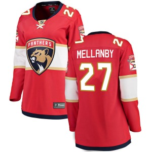 Breakaway Fanatics Branded Women's Scott Mellanby Red Home Jersey - NHL Florida Panthers