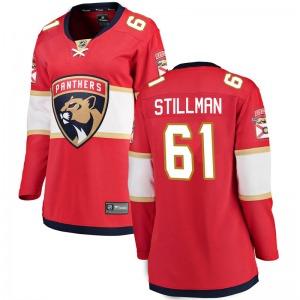 Breakaway Fanatics Branded Women's Riley Stillman Red Home Jersey - NHL Florida Panthers