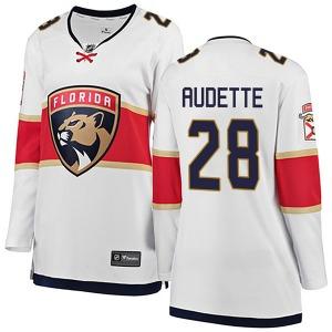 Breakaway Fanatics Branded Women's Donald Audette White Away Jersey - NHL Florida Panthers