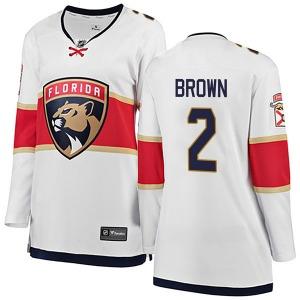 Breakaway Fanatics Branded Women's Josh Brown White Away Jersey - NHL Florida Panthers