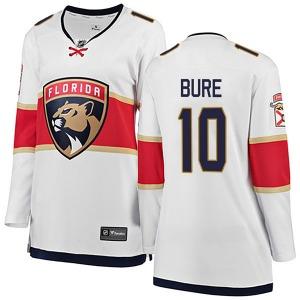 Breakaway Fanatics Branded Women's Pavel Bure White Away Jersey - NHL Florida Panthers