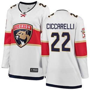 Breakaway Fanatics Branded Women's Dino Ciccarelli White Away Jersey - NHL Florida Panthers
