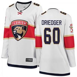 Breakaway Fanatics Branded Women's Chris Driedger White Away Jersey - NHL Florida Panthers