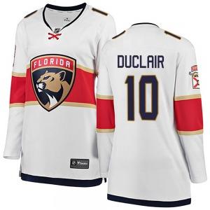Breakaway Fanatics Branded Women's Anthony Duclair White Away Jersey - NHL Florida Panthers