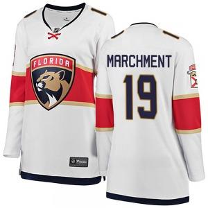 Breakaway Fanatics Branded Women's Mason Marchment White Away Jersey - NHL Florida Panthers