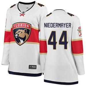 Breakaway Fanatics Branded Women's Rob Niedermayer White Away Jersey - NHL Florida Panthers