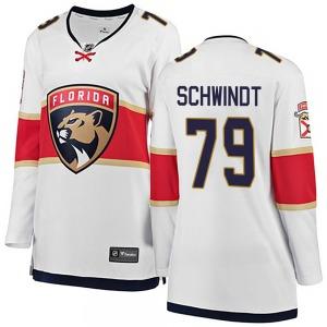Breakaway Fanatics Branded Women's Cole Schwindt White Away Jersey - NHL Florida Panthers