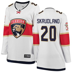 Breakaway Fanatics Branded Women's Brian Skrudland White Away Jersey - NHL Florida Panthers