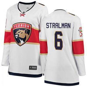 Breakaway Fanatics Branded Women's Anton Stralman White Away Jersey - NHL Florida Panthers
