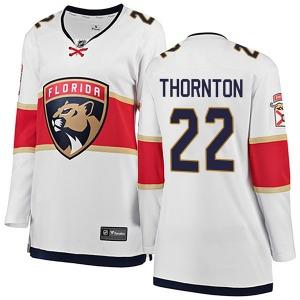 Breakaway Fanatics Branded Women's Shawn Thornton White Away Jersey - NHL Florida Panthers