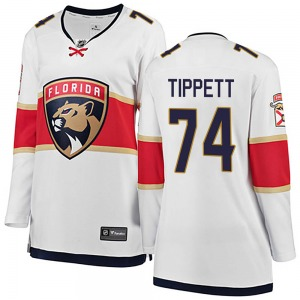 Breakaway Fanatics Branded Women's Owen Tippett White ized Away Jersey - NHL Florida Panthers