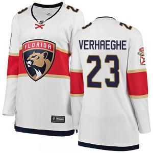 Breakaway Fanatics Branded Women's Carter Verhaeghe White Away Jersey - NHL Florida Panthers
