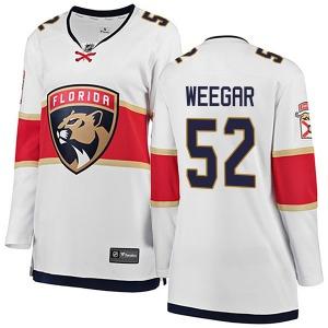 Breakaway Fanatics Branded Women's MacKenzie Weegar White Away Jersey - NHL Florida Panthers