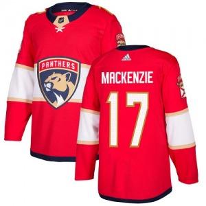 4aefd12fa Authentic Adidas Youth Derek Mackenzie Red Derek MacKenzie Home Jersey -  NHL Florida Panthers